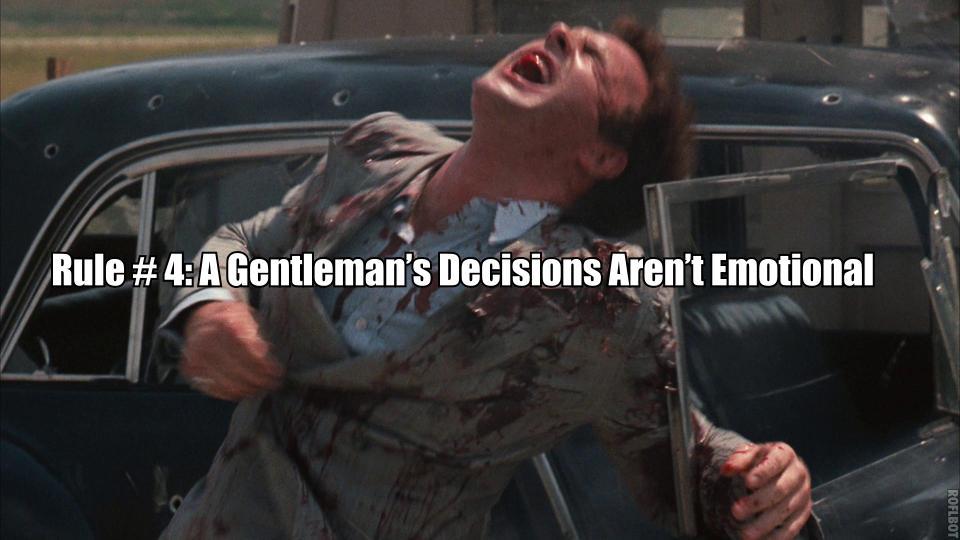 Gentleman's decisions